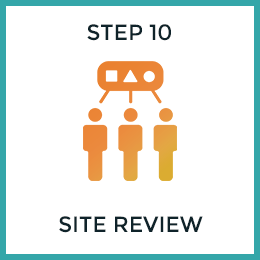 Step 10: Site Review