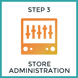 Step 3: Store Admin