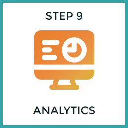 Step 9: Analytics